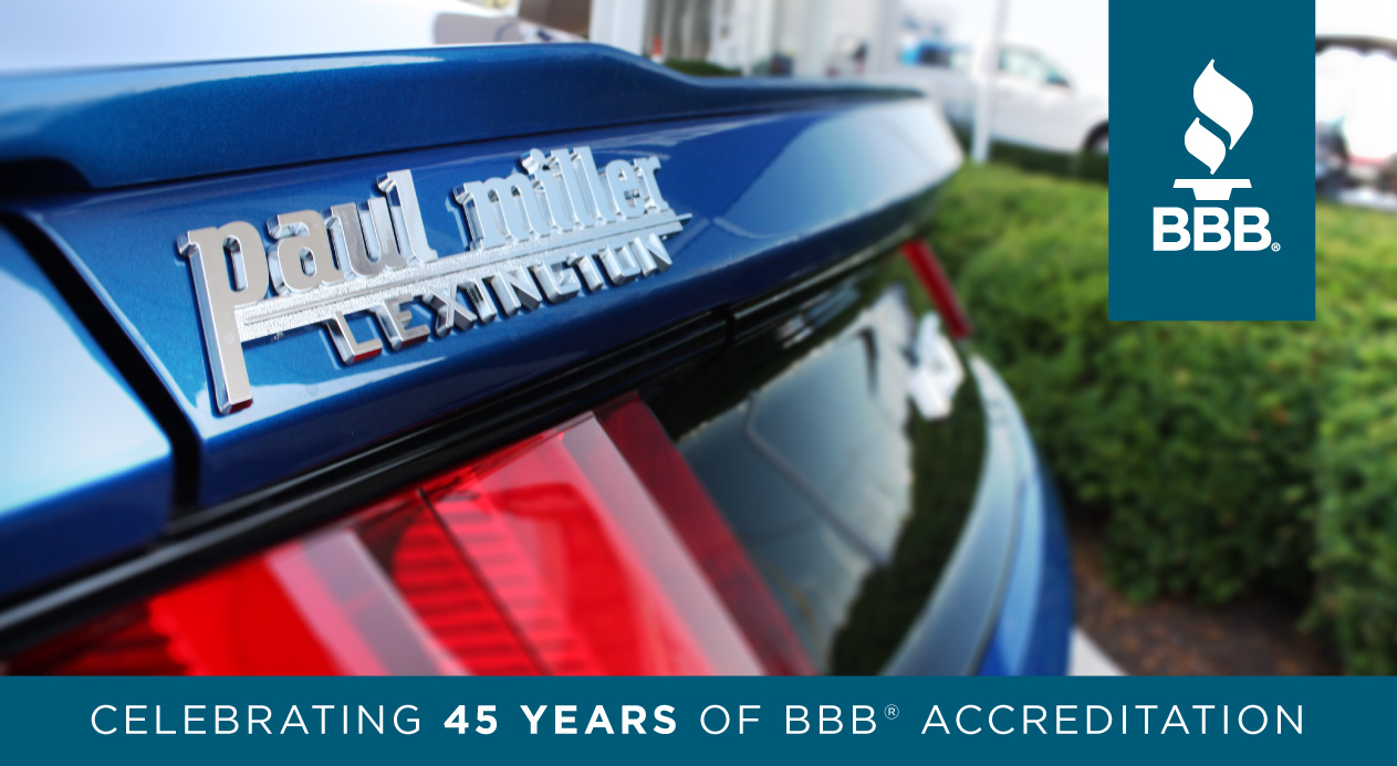 Since 1912 the better business bureau bbb has been helping people find and recommend companies they can trust this month paul miller motor company is